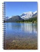 Cosley Lake Outlet - Glacier National Park Spiral Notebook