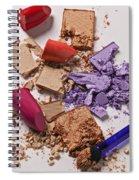 Cosmetics Mess Spiral Notebook