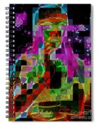 Cosmic Cup Of Coffee Spiral Notebook