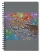 Cosmic Dragon Spiral Notebook