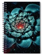 Cosmic Flower Spiral Notebook