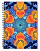 Cosmic Fluid Spiral Notebook