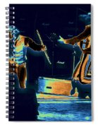 Cosmic Ian And Leaping Martin Spiral Notebook