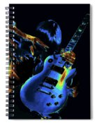 Cosmic Rock Guitar Spiral Notebook