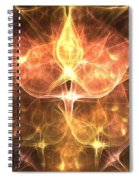 Cosmic Rosebuds Spiral Notebook