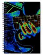 Cosmic String Bender Spiral Notebook