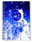 Cosmic Wonders Cropped Spiral Notebook