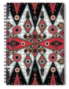 Cosmictribegeo#1 Spiral Notebook