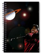 Cosmos Golf Spiral Notebook