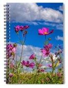 Cosmos Sky Spiral Notebook