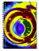 Cosmos Drift Spiral Notebook