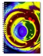 Cosmos Drift Spiral Notebook