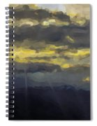 Costa Rica From The Skies Spiral Notebook