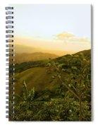 Costa Rica Rolling Hills 2 Spiral Notebook