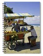 Costa Rica Vendor Spiral Notebook