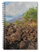 Costa Rica Volcanic Rock II Spiral Notebook