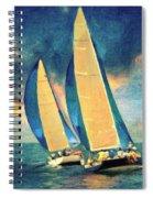 Costa Smeralda Spiral Notebook