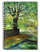 Cotswold Lane  Spiral Notebook