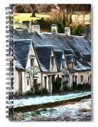 Cotswold Scene Spiral Notebook