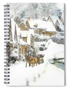 Cotswold Village Spiral Notebook