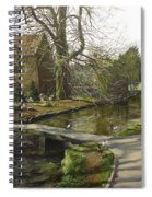 Cotswolds Scene. Spiral Notebook