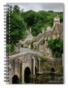 Cotswolds Village Castle Combe Spiral Notebook