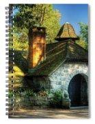 Cottage - The Little Cottage Spiral Notebook