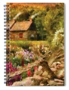 Cottage - There's No Place Like Home Spiral Notebook