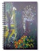 Cottage Flowers Spiral Notebook