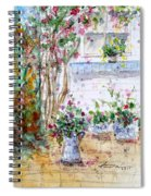 Cottage Garden Spiral Notebook