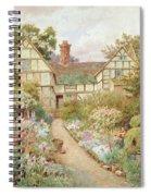 Cottage Garden Spiral Notebook