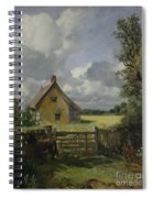 Cottage In A Cornfield Spiral Notebook