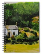 Cottage In Wales Spiral Notebook
