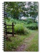Cottage Path Spiral Notebook