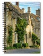 Cottage Row - Burford Spiral Notebook