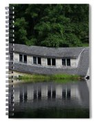 Cottage Sinking In The Rideau Canal Spiral Notebook