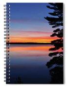 Cottage Sunset Spiral Notebook