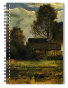 Cottages On The Dachau Marsh 1902 Spiral Notebook