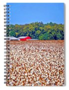 Cotton And The Red Barn Spiral Notebook