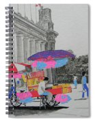 Cotton Candy At The Cne Spiral Notebook