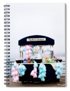 Cotton Candy Carousel- By Linda Woods Spiral Notebook