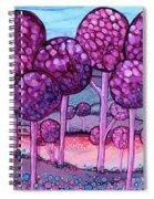 Cotton Candy Forest Spiral Notebook