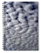 Cotton Clouds Spiral Notebook