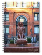Cotton Exchange Building In Savannah  Spiral Notebook
