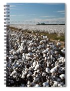 Cotton Field Spiral Notebook