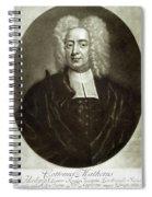 Cotton Mather 1663-1728 Spiral Notebook
