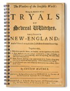 Cotton Mather, 1693 Spiral Notebook