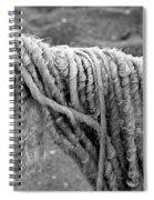 Cotton Textures Spiral Notebook