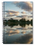 Couds At Sunrise Spiral Notebook