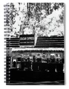 Cougar Express Spiral Notebook